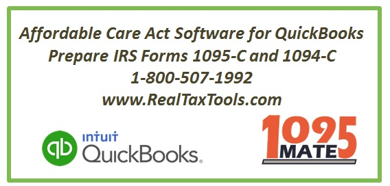 QuickBooks 1095 Software