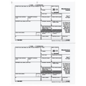 1099-MISC Payer Copy C
