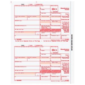 1099-MISC Federal Copy A