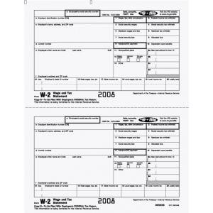 W-2 Employee Federal Copy B