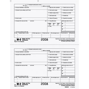 W-2 Employer File Copy D