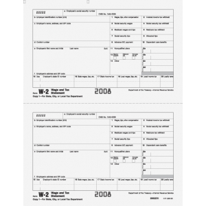 W-2 Employer State/City Copy 1