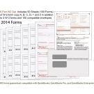 QuickBooks 6 part W2 Set for 100 employees for 2015